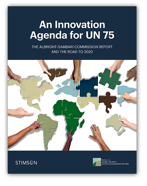 An Innovation Agenda for UN 75: The Albright-Gambari Commission
