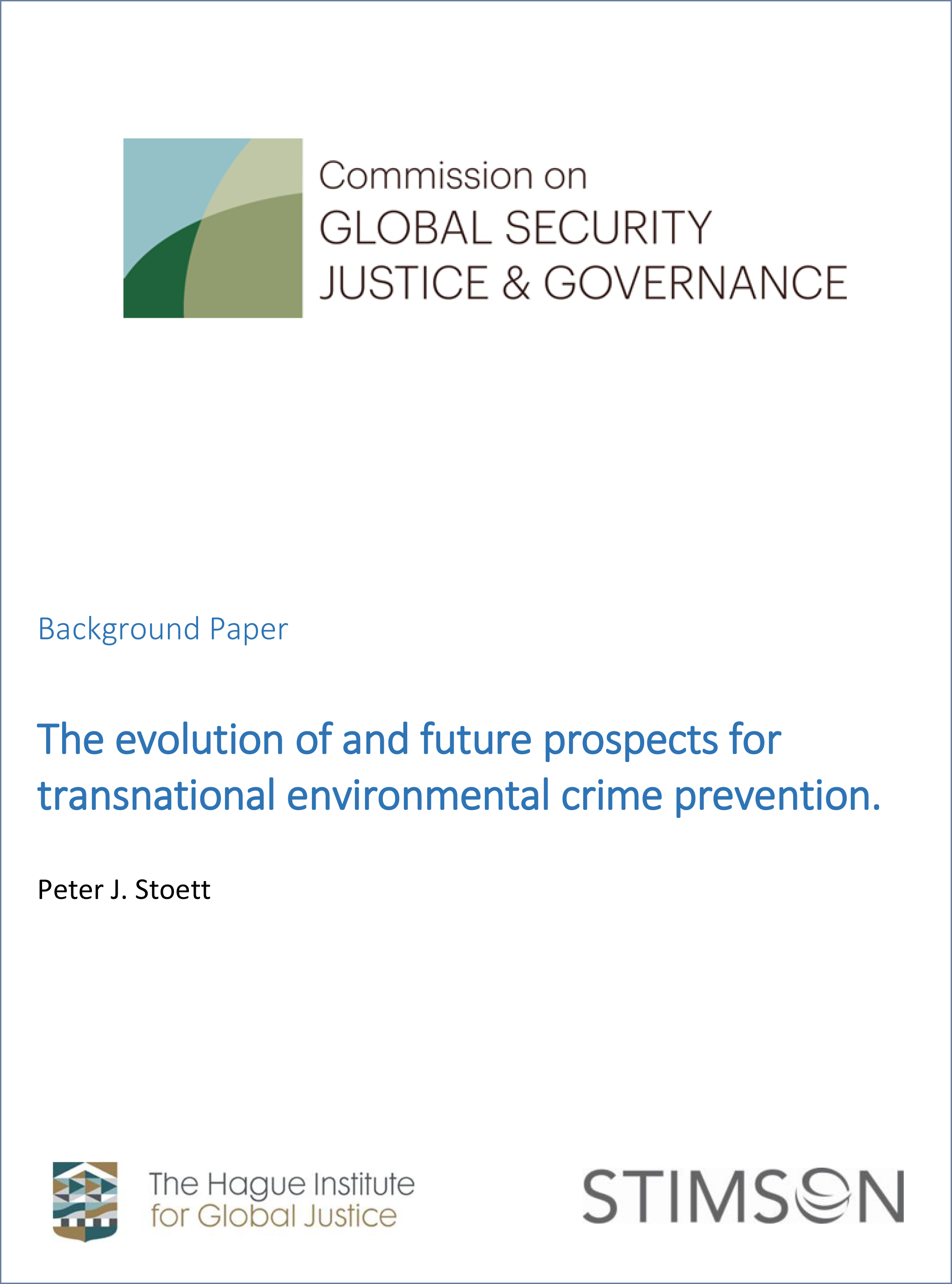 Background-Paper-Peter-Stoett-2015